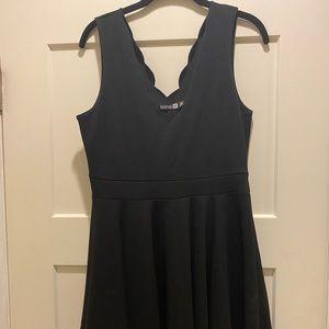 Scalloped Dress